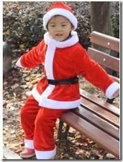 小朋友的圣诞服1