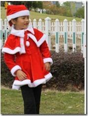 小朋友的圣诞服2