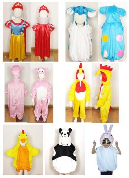 儿童露脸动物服装出租